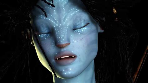Na'vi model for AVATAR FANFILM- hair simulation test with