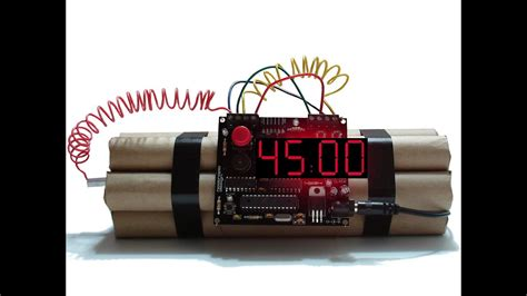45 Minutes Countdown Dynamite Timer - YouTube