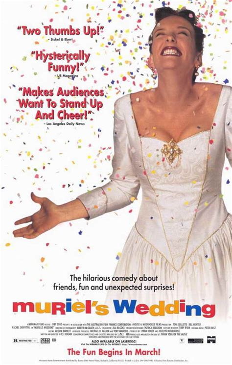 Muriel's Wedding Movie Posters From Movie Poster Shop