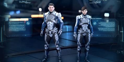 Mass Effect Andromeda Briefing Introduces Pathfinder Team
