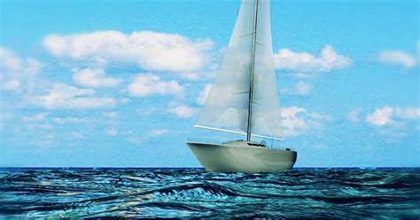 How to create a realistic ocean and floating boat in Maya