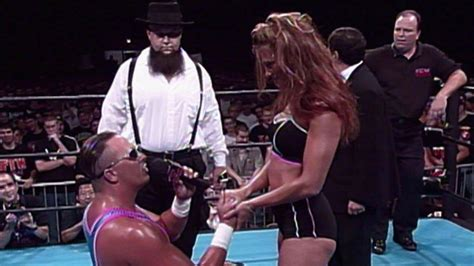 While in ECW as Miss Congeniality, Lita gets proposed to