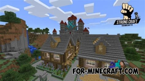Strong Craft server for Minecraft PE 0