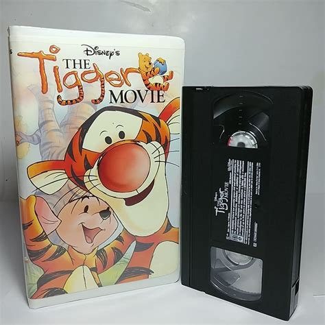 Disney's The Tigger Movie VHS Tape 2000 Very Clean