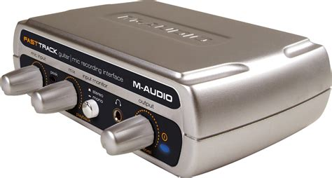 M-Audio Fast Track USB Audio Interface with GT Player