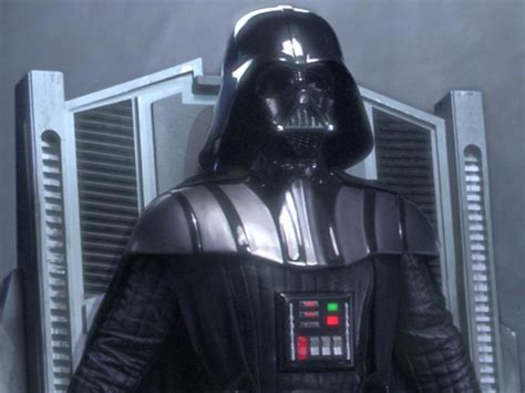 """""""Darth Vader"""" production used chest panel from Star Wars: Ep"""