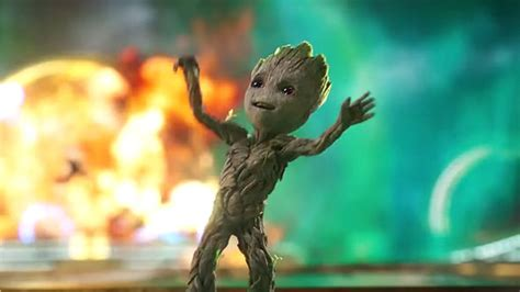 Baby Groot gets his groove on in Guardians Vol