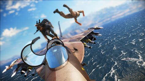 Just Cause 3: take a 4K wing-suit ride around Medici - VG247