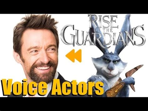 """""""Rise of the Guardians"""" Voice Actors and Characters - YouTube"""