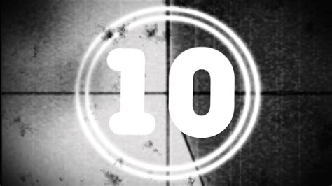 HD Old Movie Countdown - THE BEST - Film with beeb sound