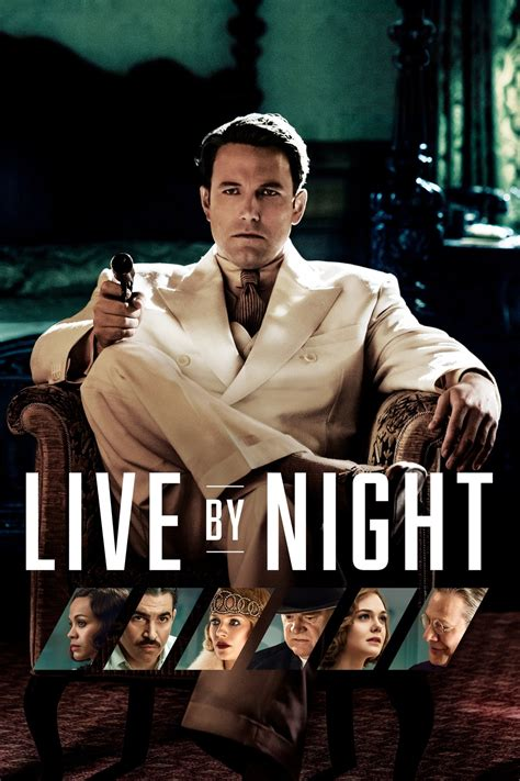 Live by Night (2016) - Posters — The Movie Database (TMDb)