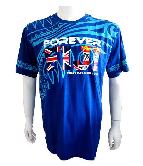Fiji Forever Pride Passion and Glory Mens T-Shirt