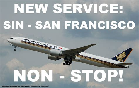 Singapore Airlines To Add Non-Stop Service To San